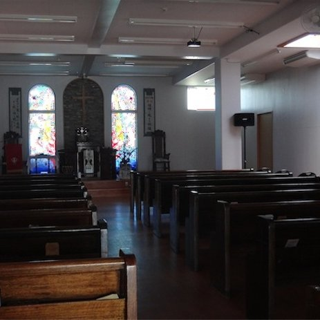 Seaside Chapel: the church where we are serving.