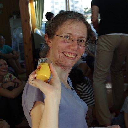 Val won a toothpick holder!