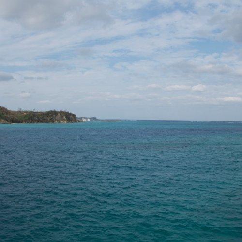 Nice blue ocean.