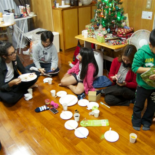 Our Christmas party.